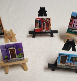 "Miniature 1"" x 1"" original art"