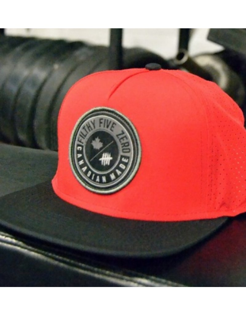 FILT50 SNAPBACK EXCLUSIVE - BLACK&RED