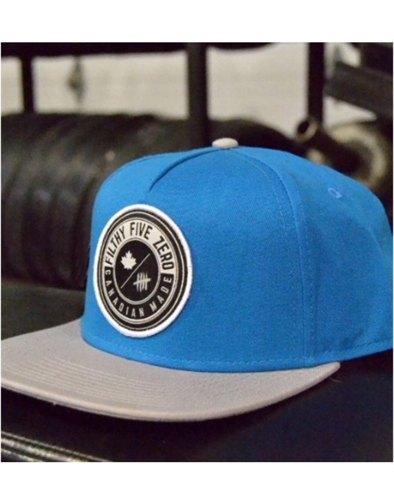 FILTHY FIFTY EXCLUSIVE SNAPBACK - BLUE&GREY