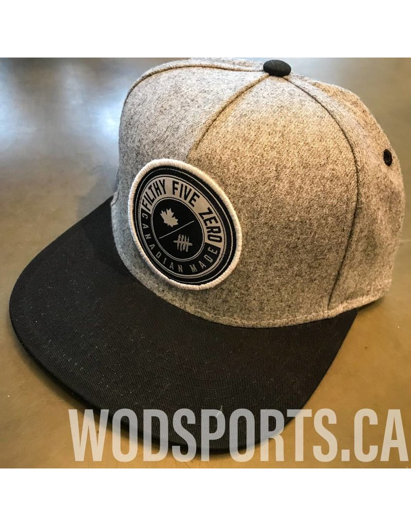FILT50 SNAPBACK EXCLUSIVE- BLACK&GREY