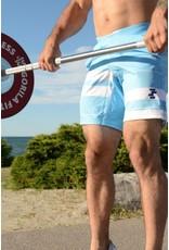 Filthy 50 FILT50 MEN TRAINING SHORTS BABY BLUE