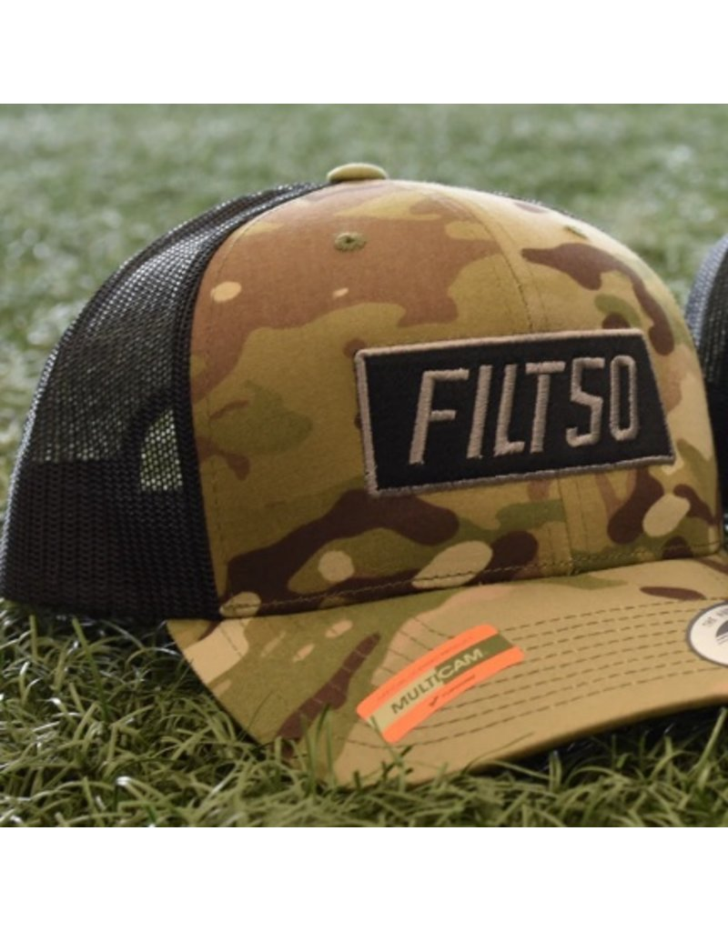 Filthy 50 FILT50 MULTICAM SNAPBACK BLACK