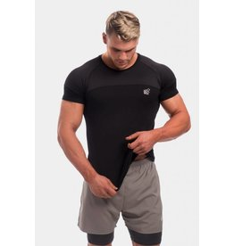 JED NORTH JED NORTH CORE MESH TEE BLACK