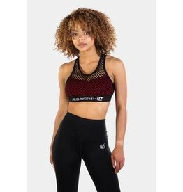 JED NORTH CHARLOTTE SPORT BRA, RED