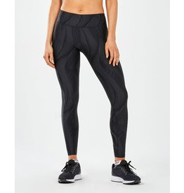 2XU 2XU Mid Rise Print Compr Tight