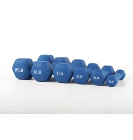360 ATHLETICS NEOPRENE DUMBELL 1LBS (unit)