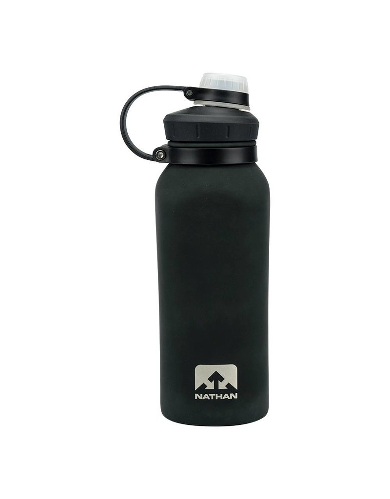 NATHAN NATHAN HAMMERHEAD STEEL RUBBER BLACK 24OZ