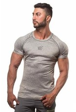 JED NORTH AGILE SHORT SLEEVE TRAINING TEE, GREY