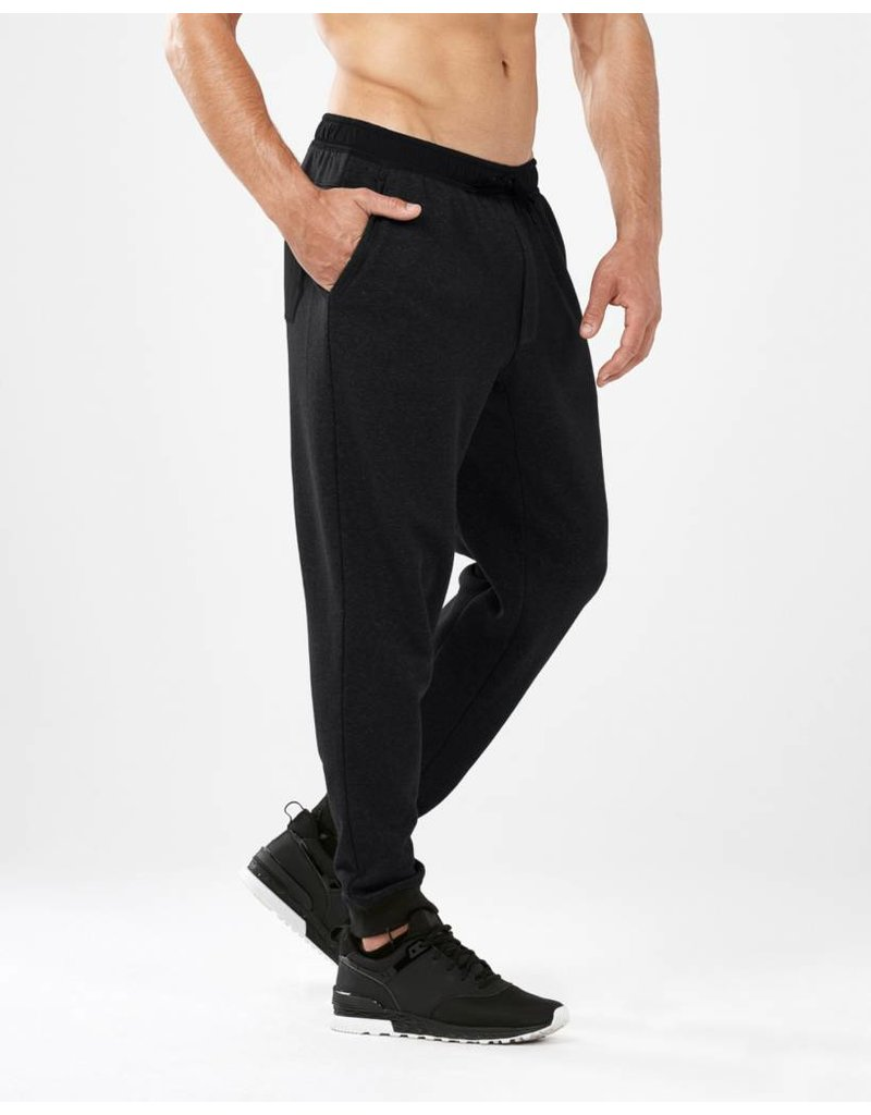2XU 2XU URBAN MIXED TRACK PANT - BLACK