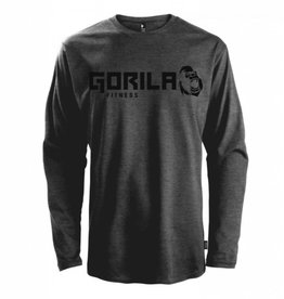 GORILA FITNESS GORILA LONG SLEEVE SHIRT - DARK GREY