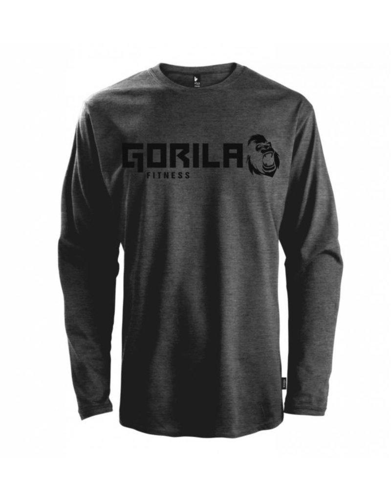 GORILA FITNESS GORILA LONG SLEEVE SHIRT - DARK GREY