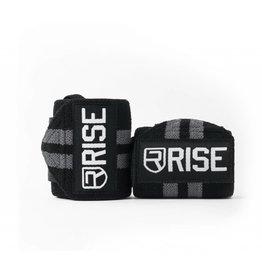 RISE RISE WRIST WRAPS GREY 18''