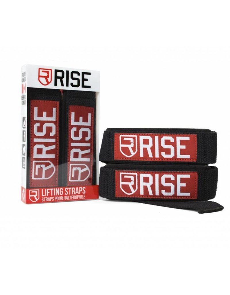 RISE RISE LIFTING STRAP - BLACK