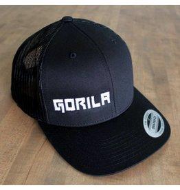 GORILA FITNESS GORILA TRUCKER HAT BLACK