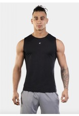JED NORTH JED NORTH SYNERGY MUSCLE TEE - BLACK