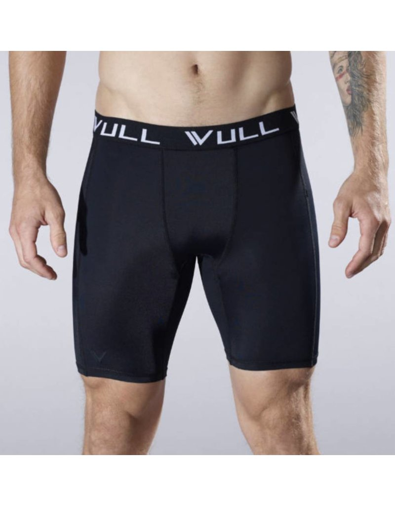 Vull Sport VULLSPORT STRIPE COMPRESSION SHORT BK