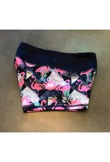 Filthy 50 FILTHY FIFTHY WOMEN TIGHT SHORTS - FLAMINGO