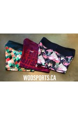 Filthy 50 FILTHY FIFTHY WOMEN TIGHT SHORTS - PARROT