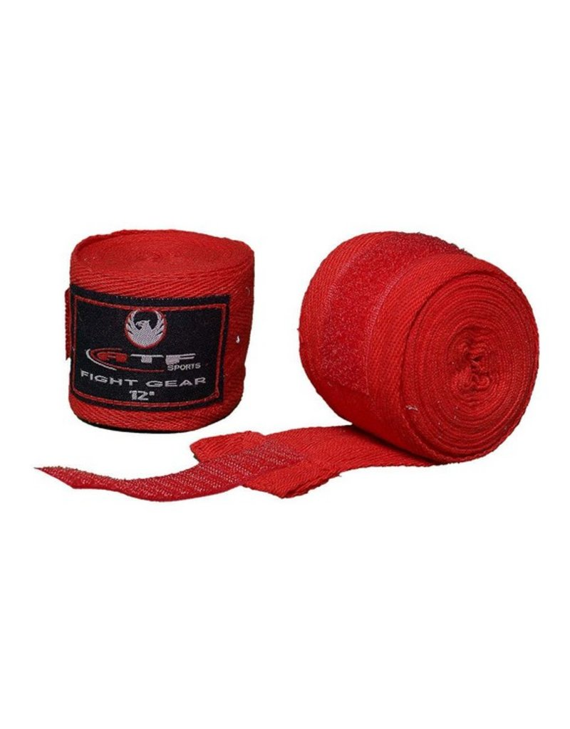 ATF PRO BANDAGES 12.5' RED