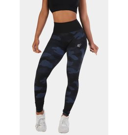 JED NORTH JED NORTH FLORA SEAMLESS LEGGINGS BLUE CAMO