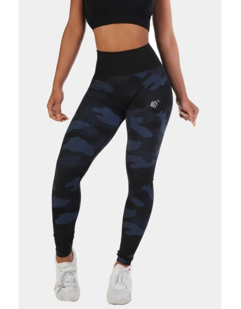 d70c2f518d8 JED NORTH JED NORTH FLORA SEAMLESS LEGGINGS BLUE CAMO - WOD Sports