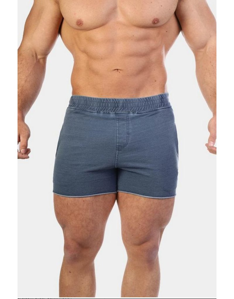 JED NORTH JED NORTH DENIM SHORTS BLUE