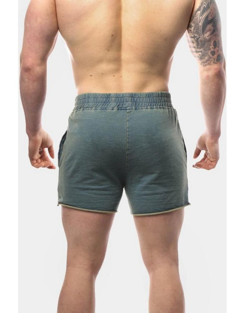 JED NORTH JED NORTH DENIM SHORTS LIGHT BLUE