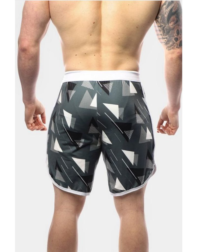JED NORTH JED N ACE SPORTS SHORTS GEOMETRIC