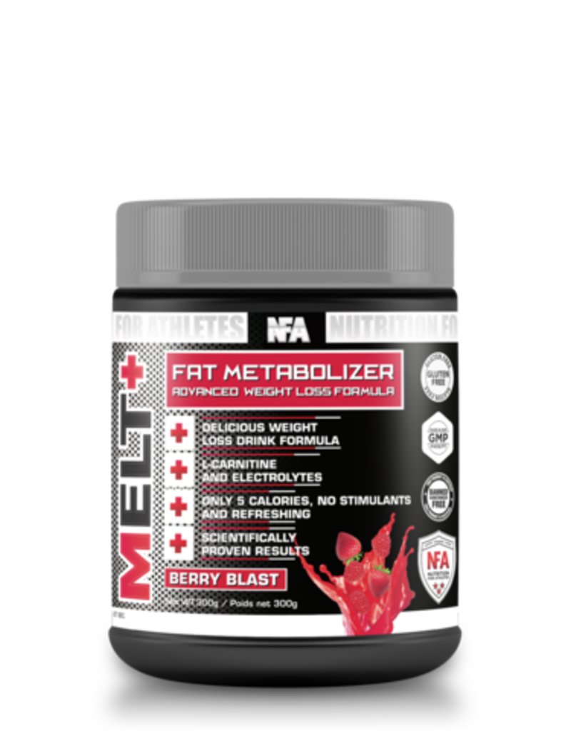 NFA NUTRITION FOR ATHLETES FAT METABOLIZER - BERRY BLAST