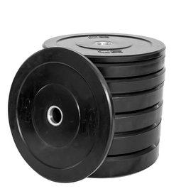 TONIC PERFORMANCE TPWOD Black Bumper Plates 10LBS
