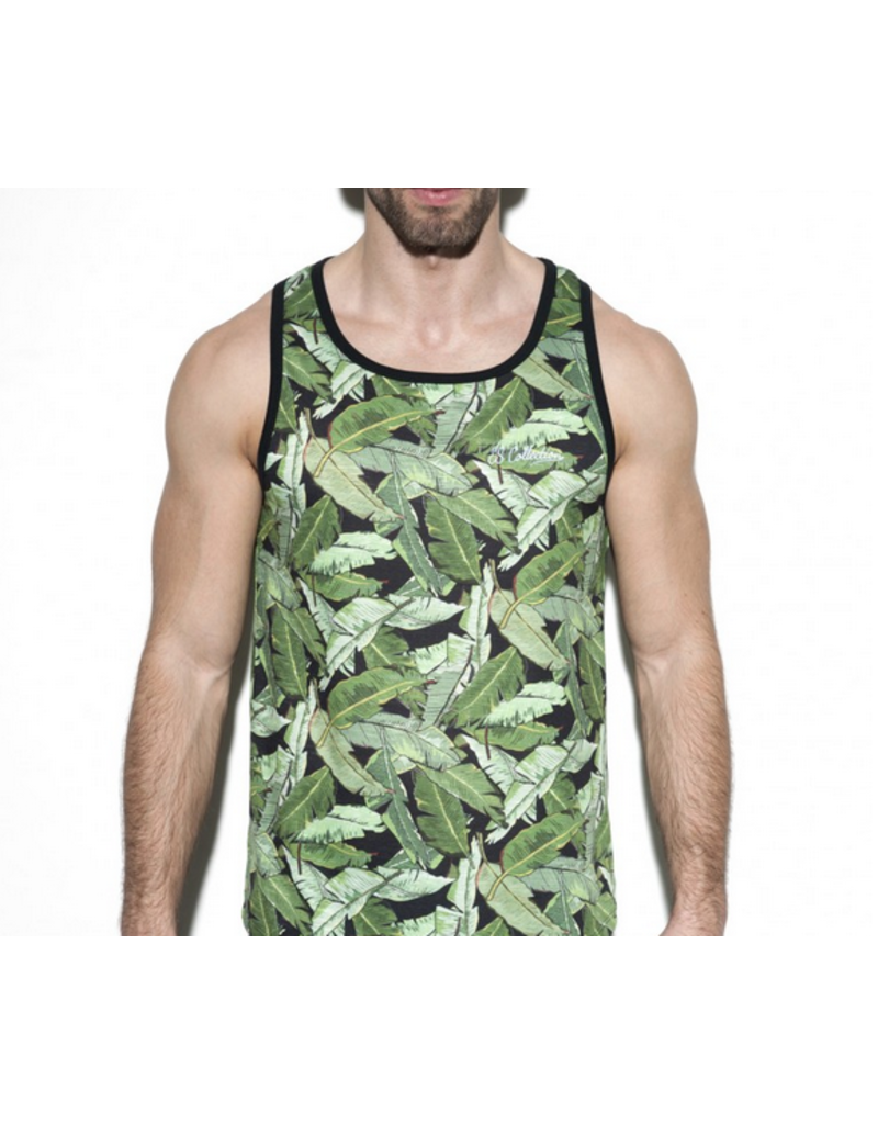 ADDICTED / ES COLLECTION AD LEAVES TANK TOP