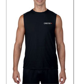 WODSPORTS WOD GR8CND WIDE SLEEVELESS BLACK