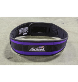 "SCHIEK SCHIEK ADVANTAGE BELT 4"" -PURPLE"