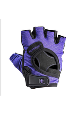 HARBINGER WOMEN'S FIT TRAINING GLOVES PURPLE