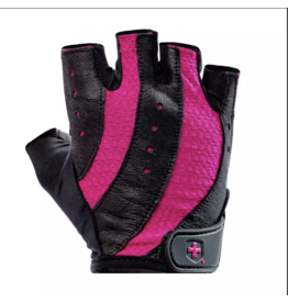 HARBINGER WOMEN'S FIT TRAINING GLOVES PINK