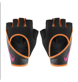 NIKE WOMEN'S PERF WRAP GLOVES 2.0  BK/ORANGE  X-SMALL