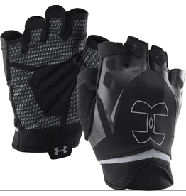 UA RESISTOR MEN'S TRAINING GLOVES - SMALL