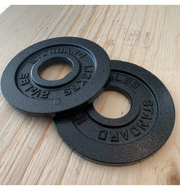 TONIC PERFORMANCE TP IRON OLYMPIC PLATES 2.5LBS (PAIR)