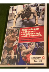 REEBOK Crossfit Poster Collection #1 (one available) 6' x 4'