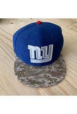 NY BLUE AND CAMO HAT