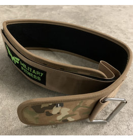 MILITARY FITNESS 4'' WEIGHTLIFTING BELT
