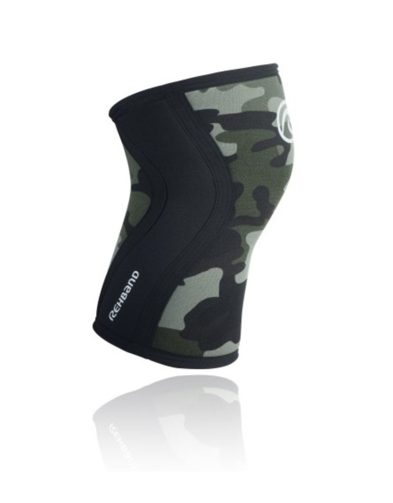 REHBAND SUPPORT GENOUX 5MM CAMO