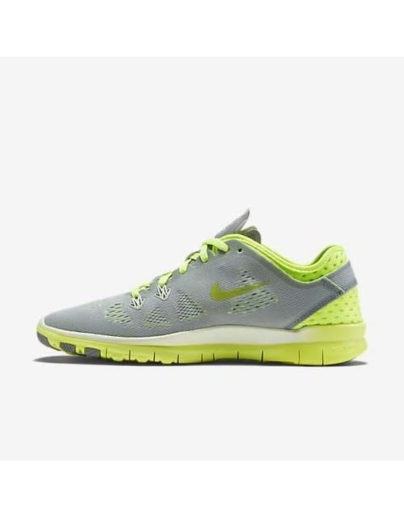 NIKE NIKE FREE 5.0 TR FIT BREATHE - GREY/VOLT/WHITE