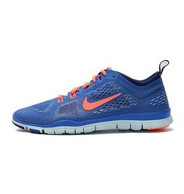 NIKE NIKE FREE 5.0 TR FIT 4 - BLUE ROYAL/MANGO/WHITE