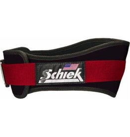 "SCHIEK SCHIEK ADVANTAGE BELT 4"" RED"