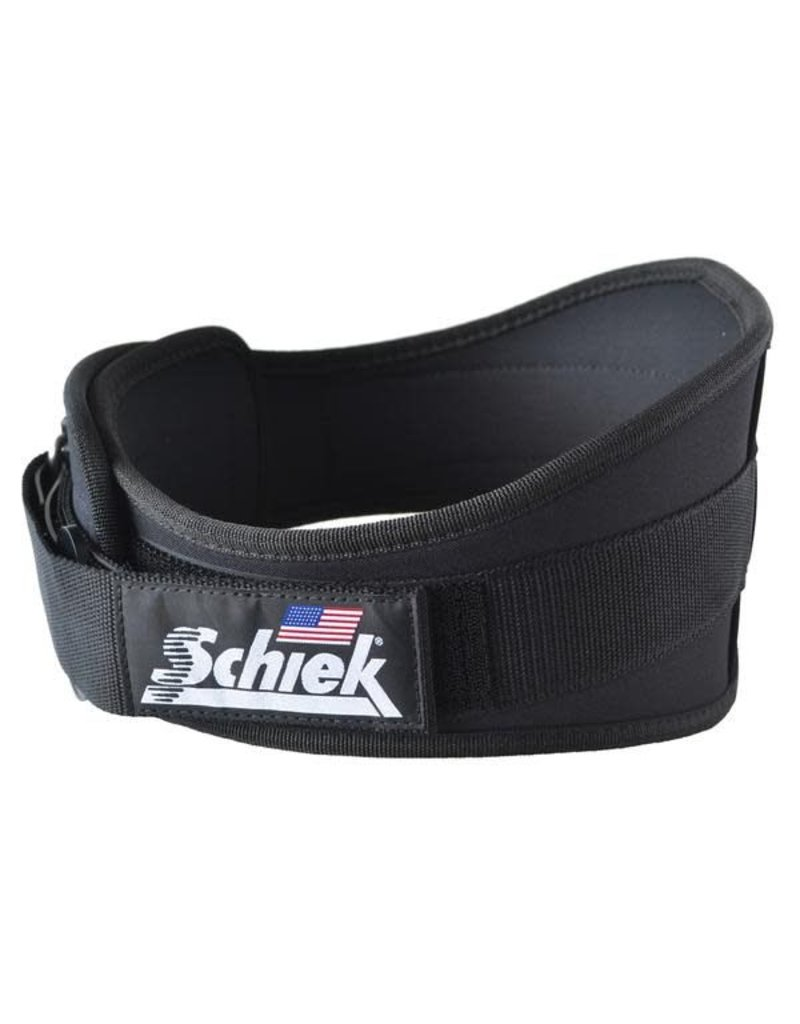 "SCHIEK SCHIEK ADVANTAGE BELT 4"" BLACK"