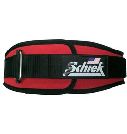 "SCHIEK SCHIEK ADVANTAGE BELT 6"" RED"