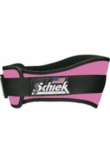 "SCHIEK SCHIEK ADVANTAGE BELT 4"" PINK"
