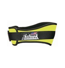 "SCHIEK SCHIEK ADVANTAGE BELT 4"" NEON YELLOW"