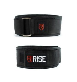 RISE RISE NEOPRENE BELT, BLACK